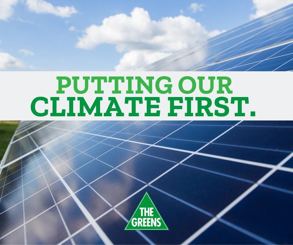 Putting Our Climate First