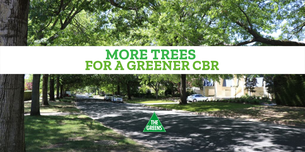 More trees for a greener CBR