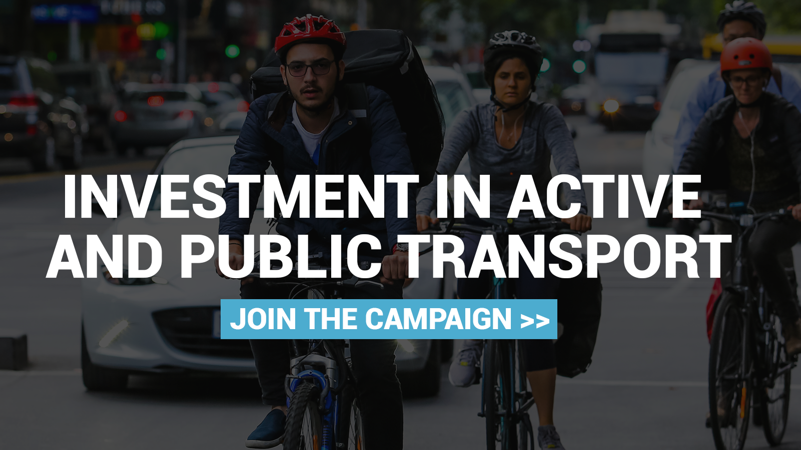 Investment in public and active transport
