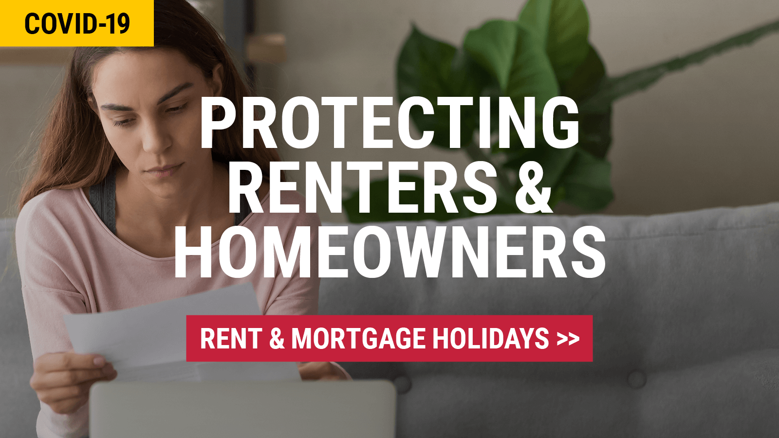 Protecting renters and homeowners during Covid19 | Add your voice