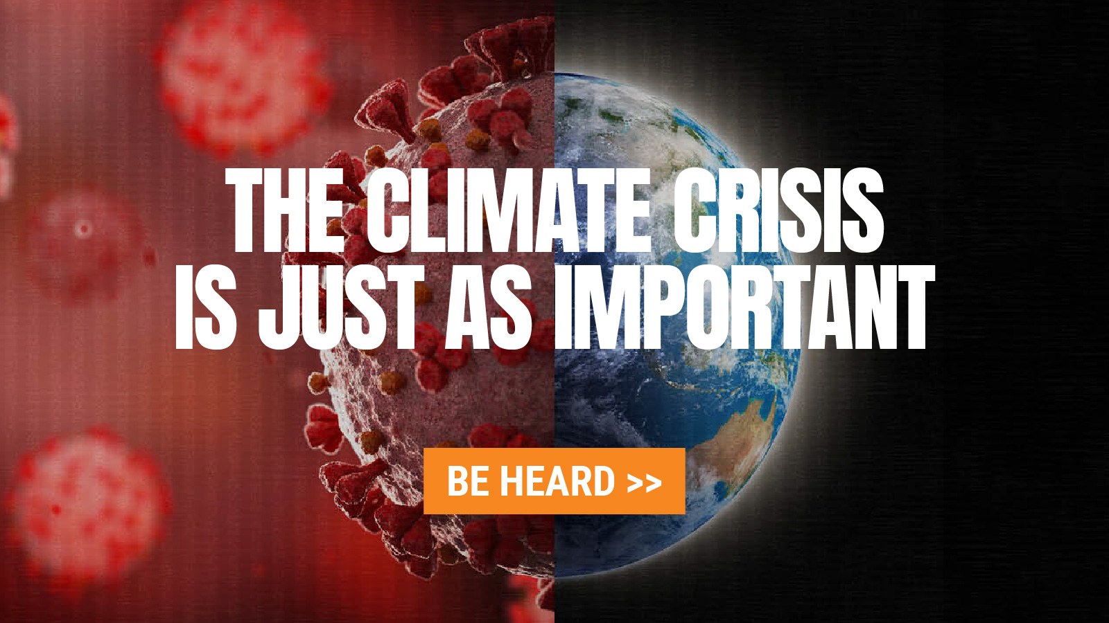 The Climate Crisis is just as important | Sign the Petition