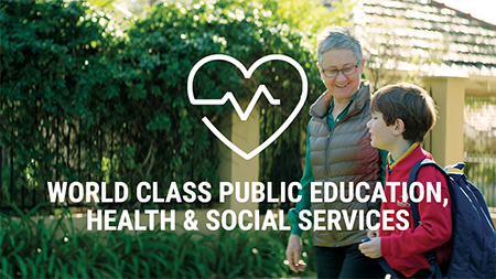World Class Public Education, Health & Social Services
