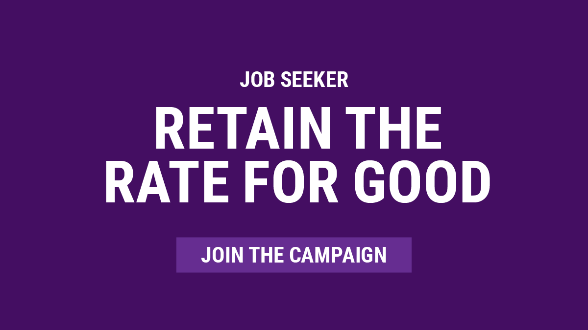 Retain the Rate - Join the Campaign