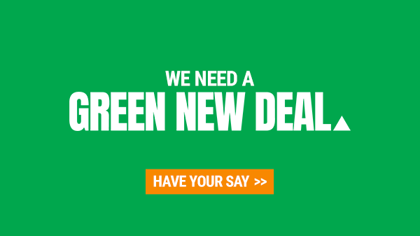 Add Your Voice To Australia's Green New Deal