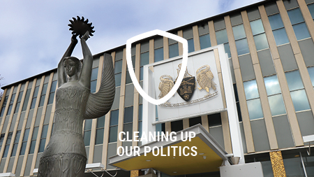 Cleaning Up Politics