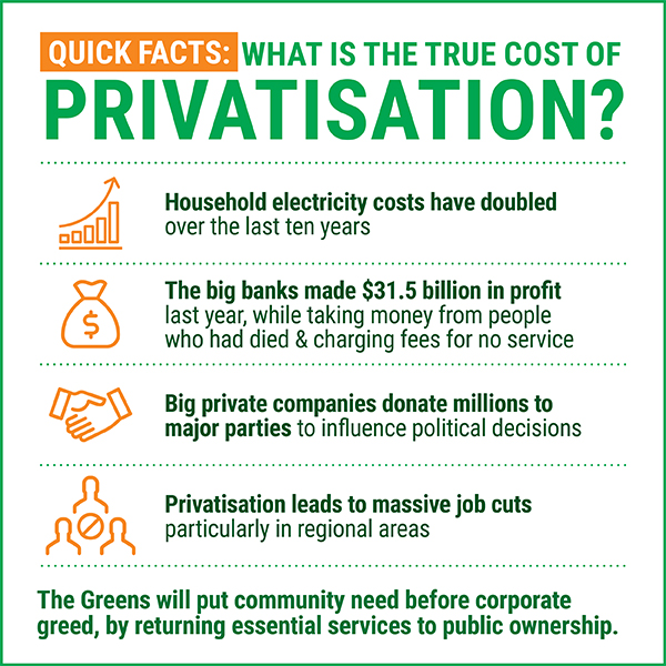 What is the true cost of privatisation?