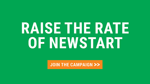 Help Us Raise The Rate Of Newstart