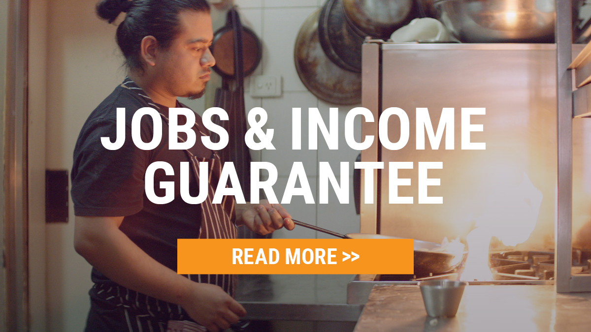 Job and Income Guarantee - Find Out More