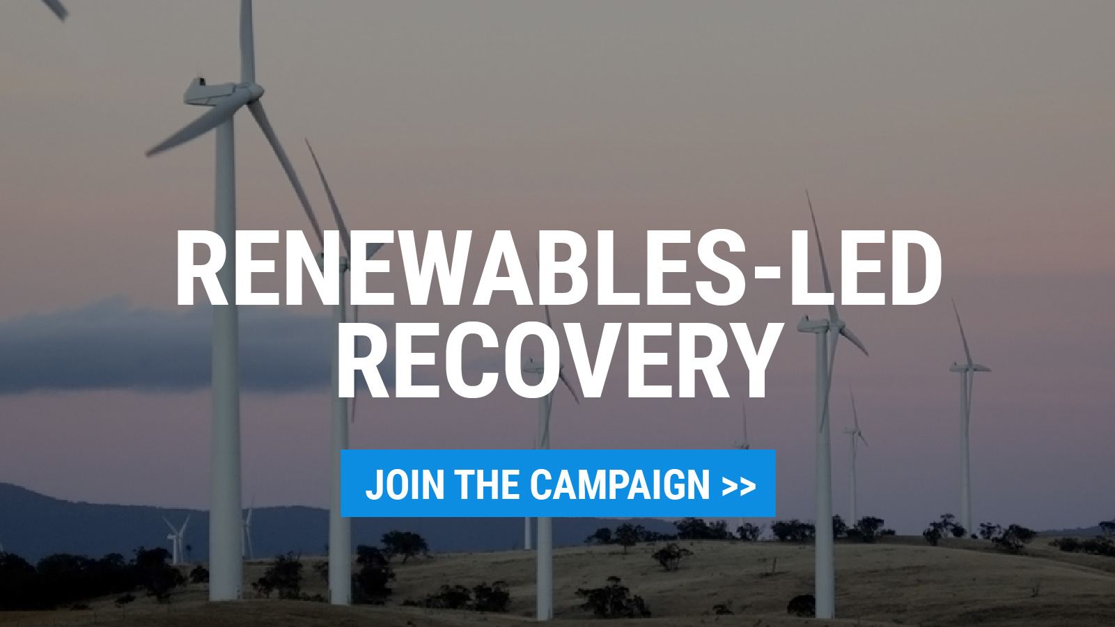 Renewables-led Recovery