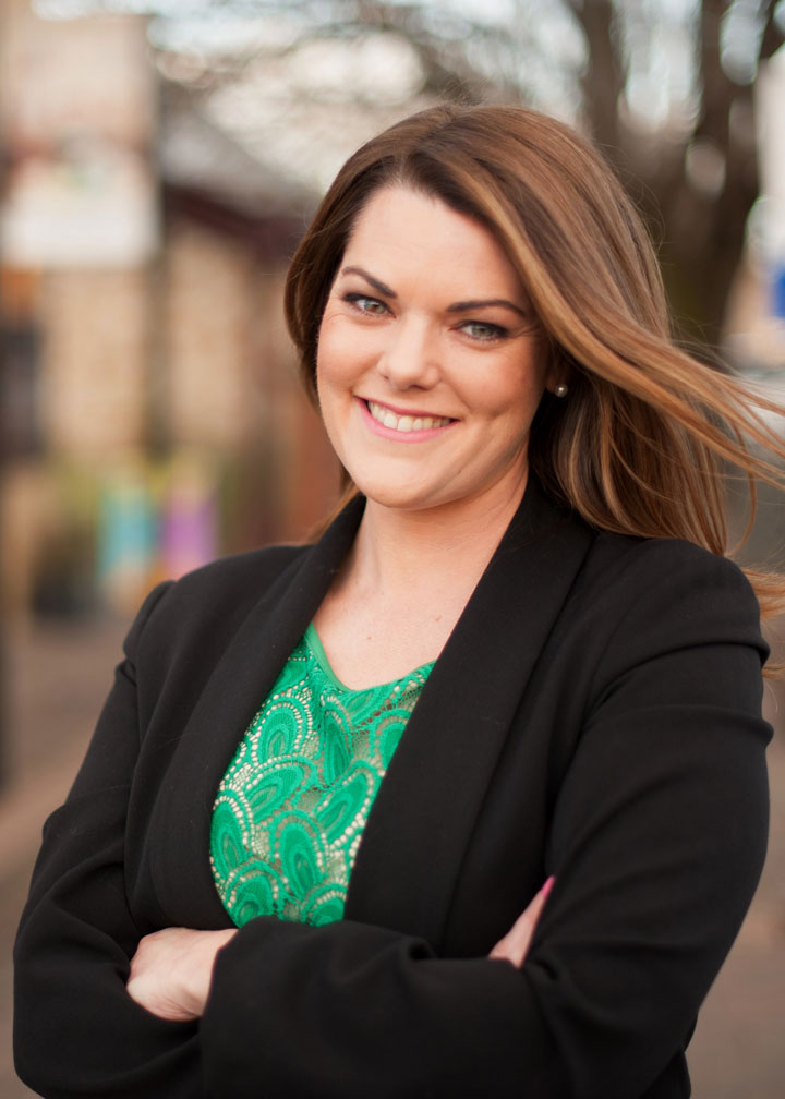 Sarah Hanson-Young smiling for camera