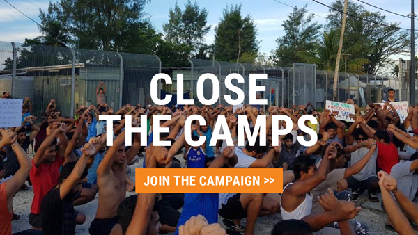 Close the camps: Join the Campaign