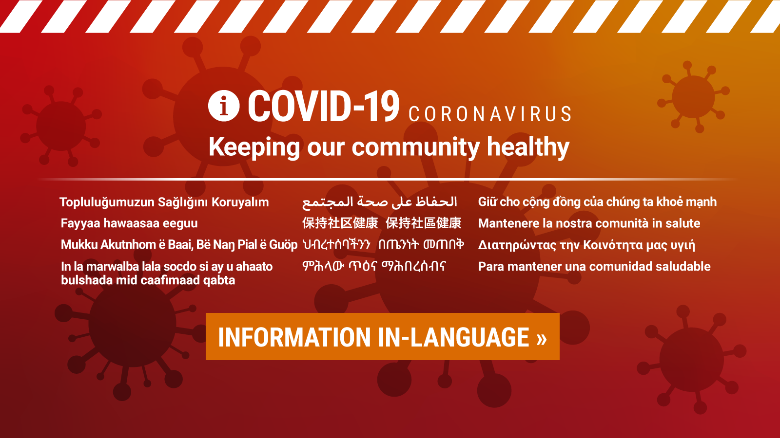 COVID19 information in-language