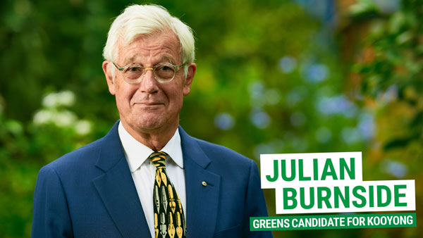 Julian Burnside for Kooyong