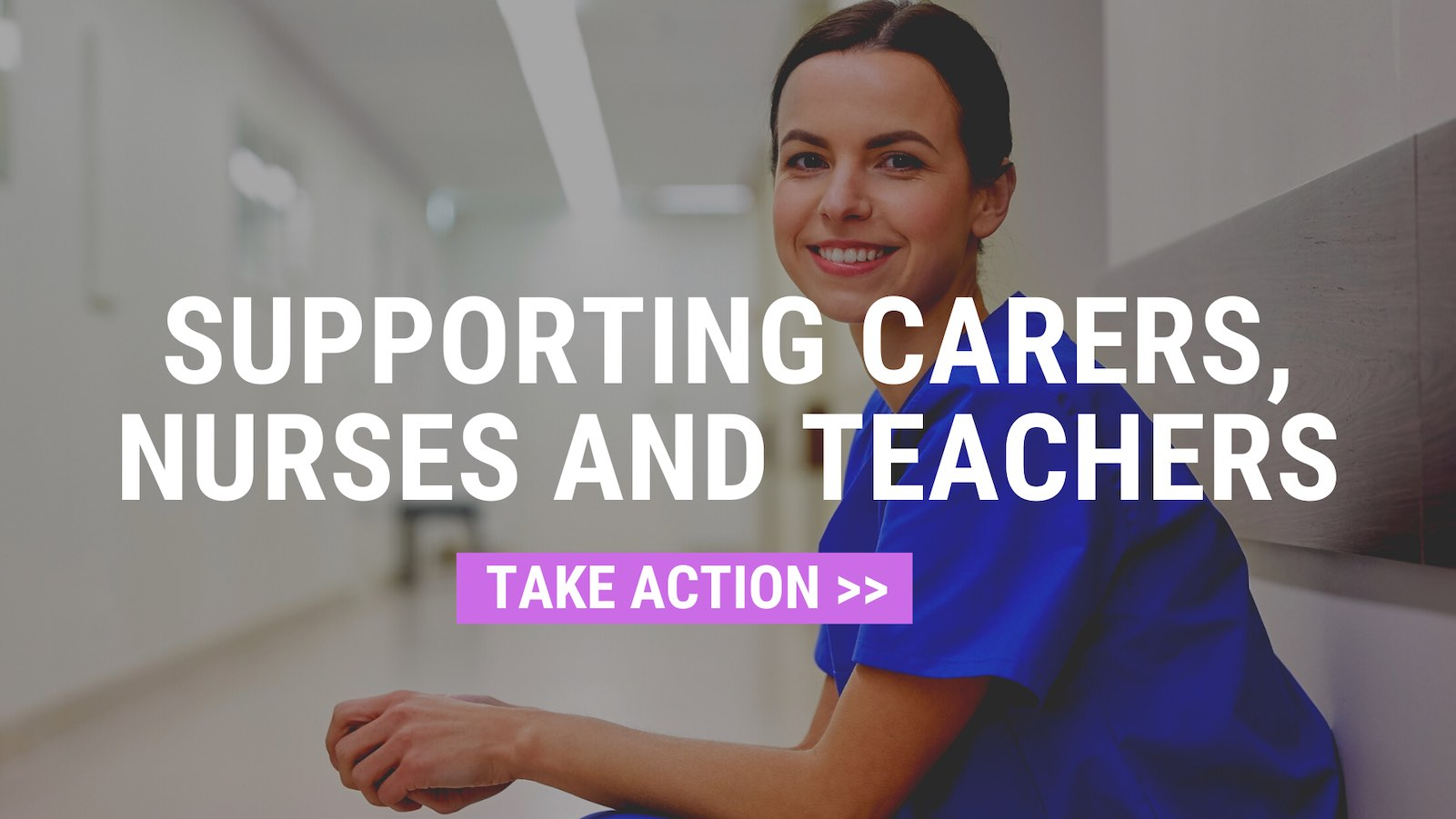 Supporting carers, nurses and teachers