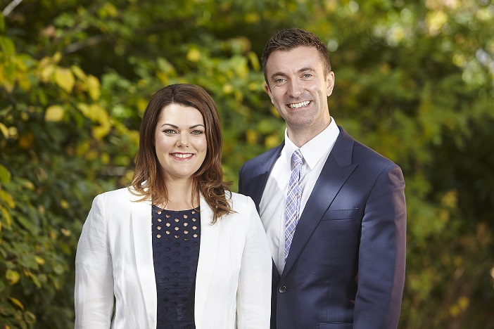 Sarah Hanson-Young and Robert Simms
