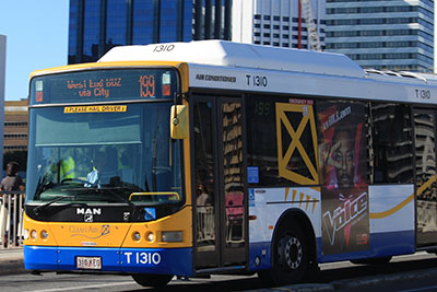 Queensland public transport bus