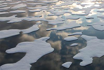 Sea Ice Patterns.