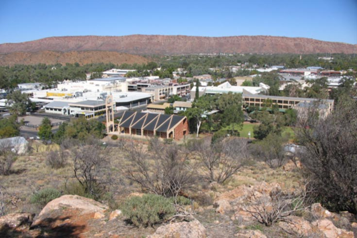Alice springs seen from Anzac Hill