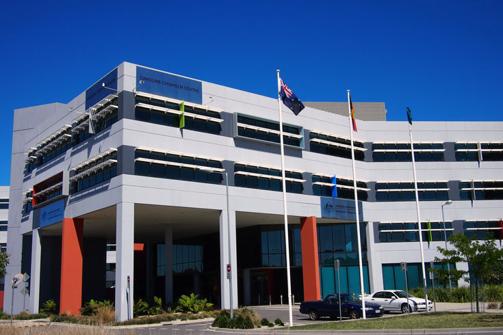 Caroline Chisholm Centre, head office of Human Services, Tuggeranong
