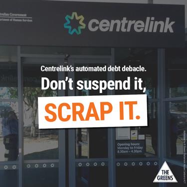End Centrelink's Debt Debacle