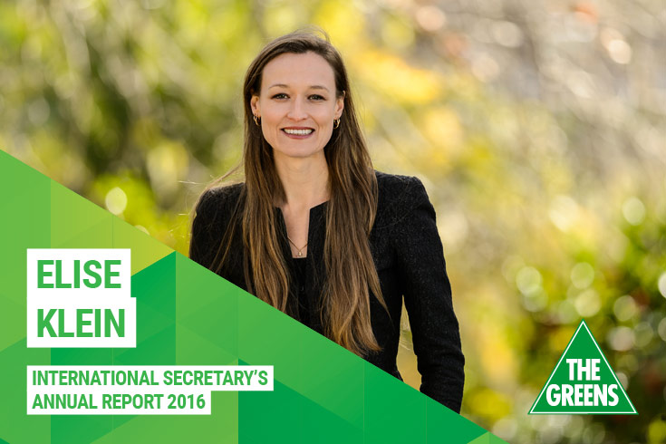 Elise Klein annual report 2016