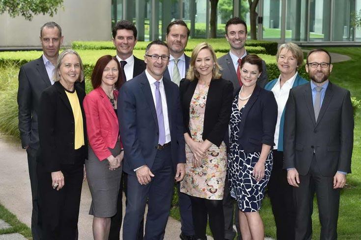 Federal Greens MPs 2016