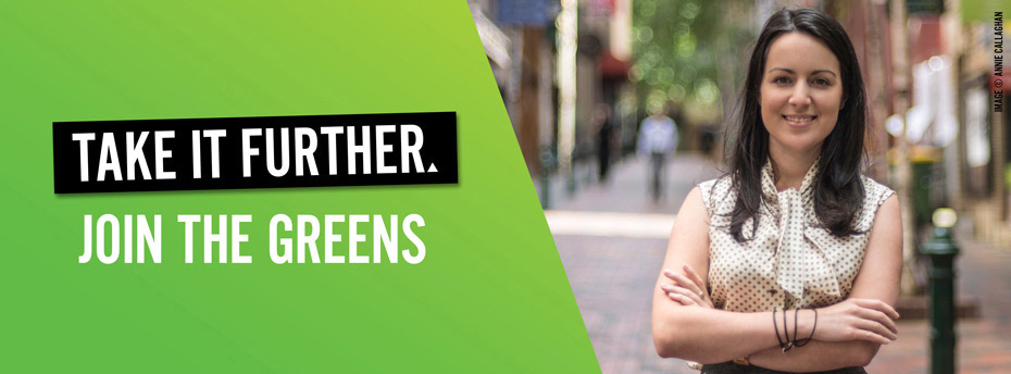 Become a member of the Victorian Greens