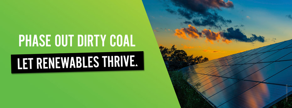 You can trust the Greens to phase out old, dirty coal-fired power stations.