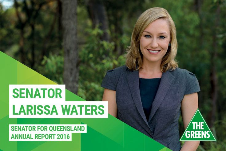 Larissa Waters Annual Report 2016