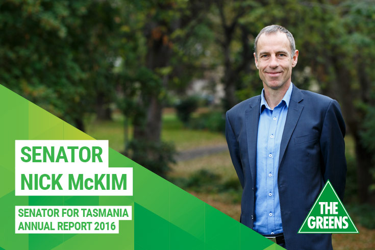 Nick McKim Annual Report 2016