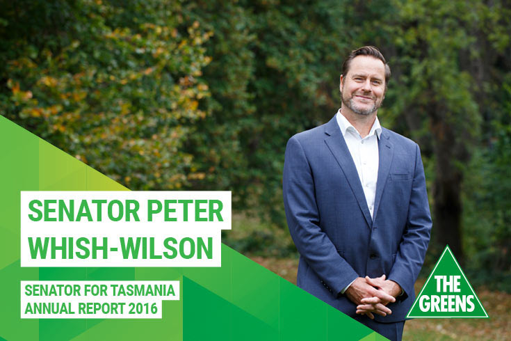 Peter Whish-Wilson Annual Report 2016