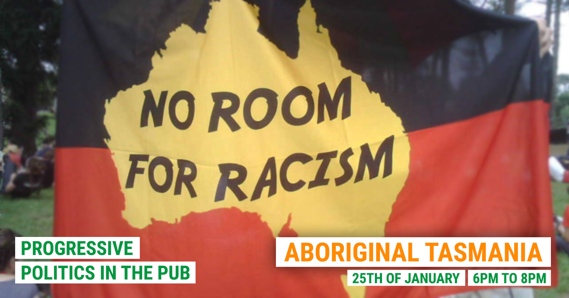 Politics In the Pub, Aboriginal Tasmania