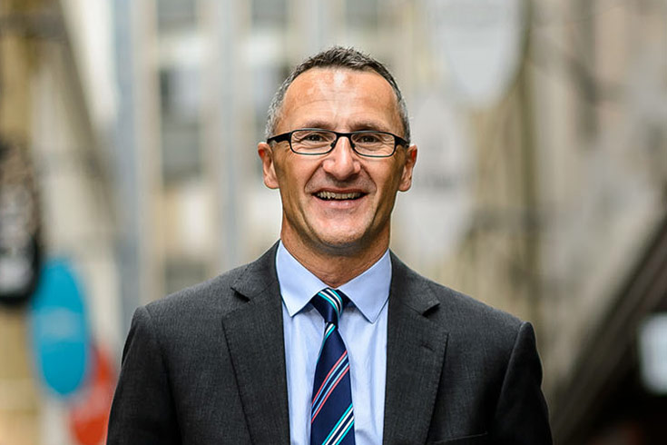 Senator Richard Di Natale in Melbourne