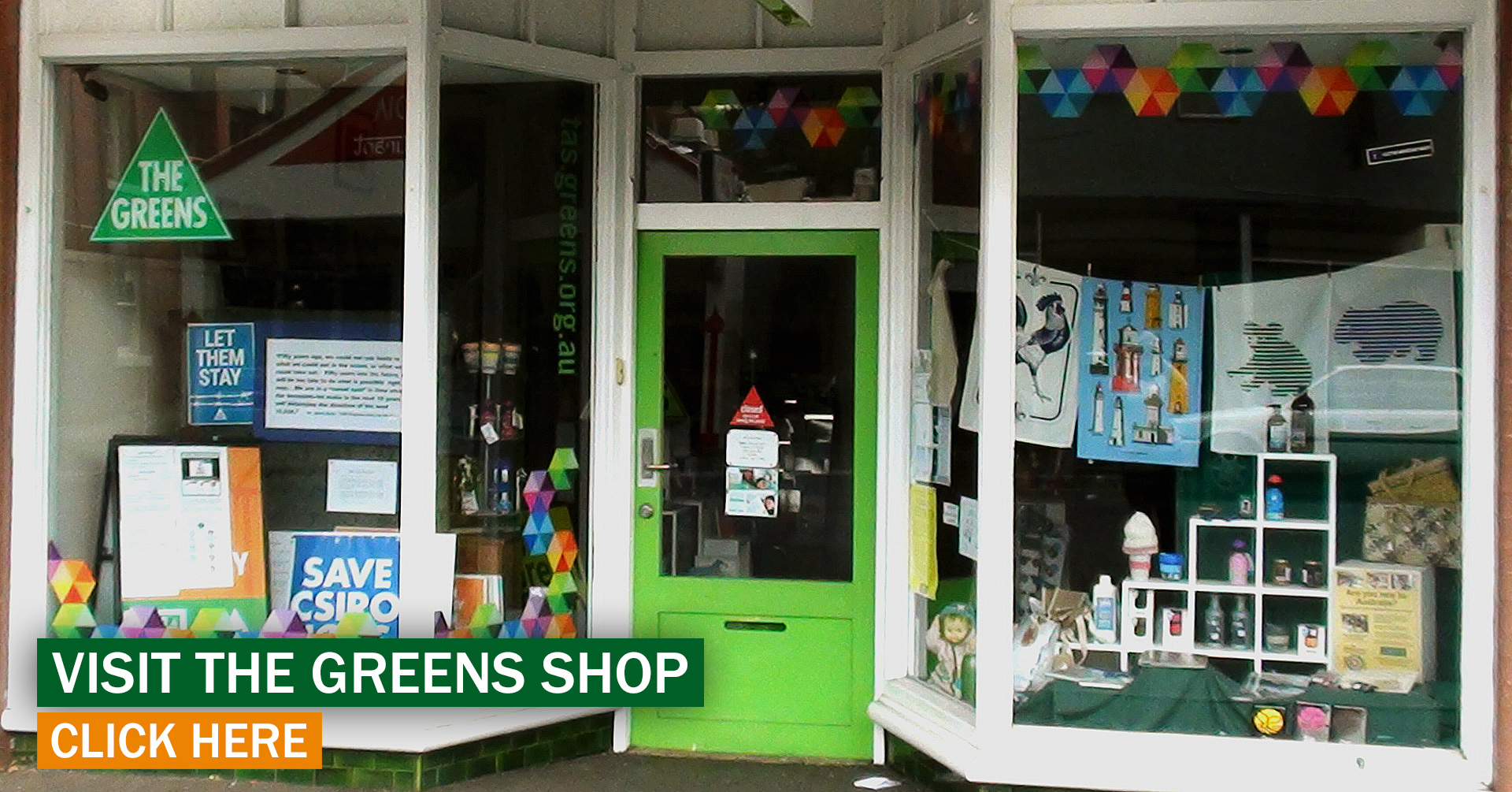 Greens Shop in Hobart