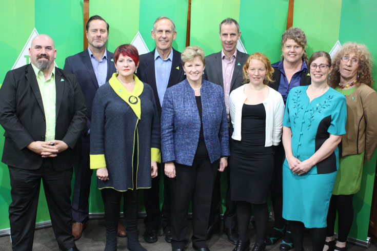 Tasmanian candidates at Tasmanian launch 2016