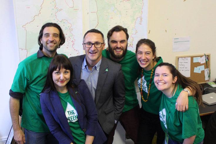 Tasmanian election crew