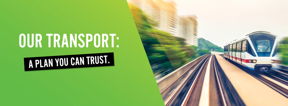 Our transport: A plan you can trust.