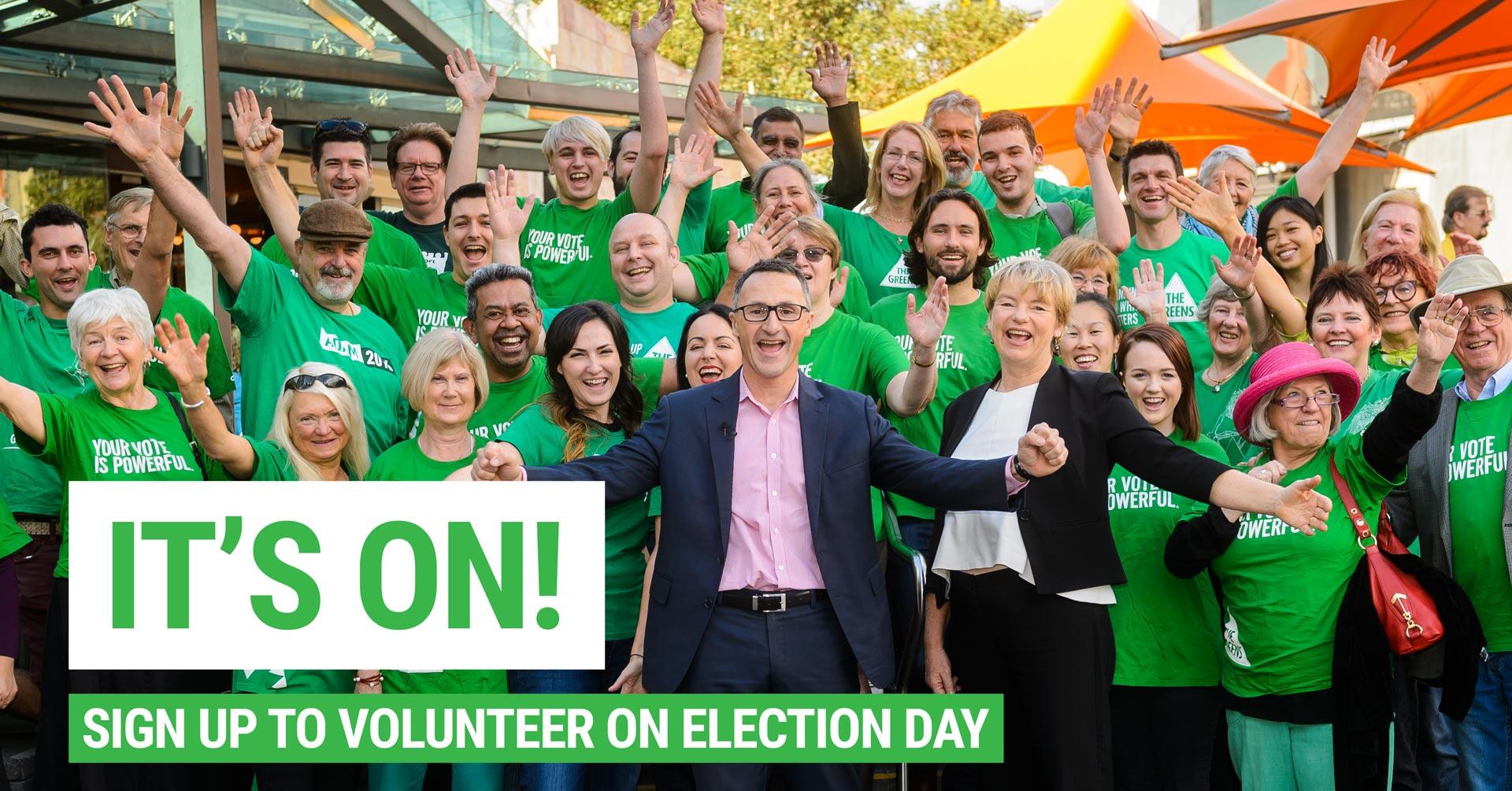 Volunteer - Election 2016