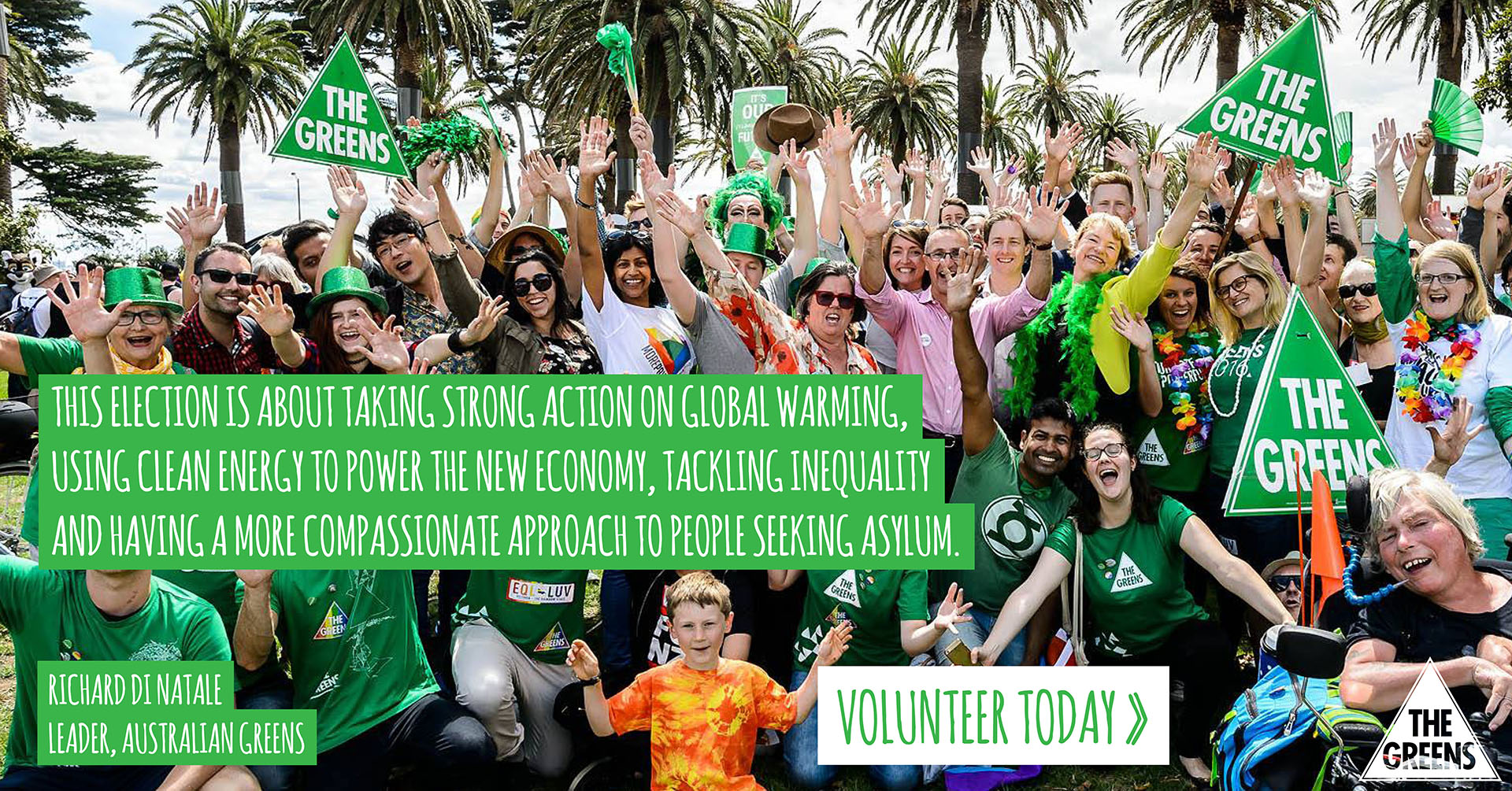 Volunteer on the 2016 campaign