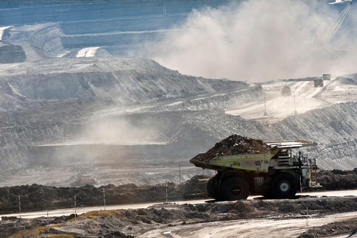 Warkworth coal mine