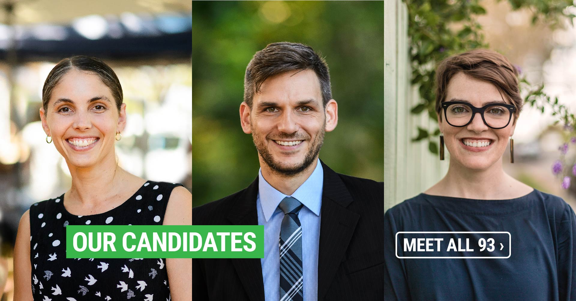 Our candidates   See all 93 ›