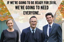 We'll need everyone