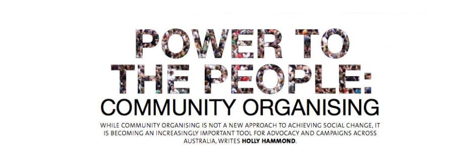 Power to the People — by Holly Hammond