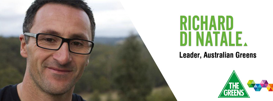 Australian Greens Leader, Richard di Natale