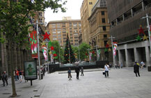 Photo of Martin Place, Sydney by Flickr user RubyGoes cc-by 2.0