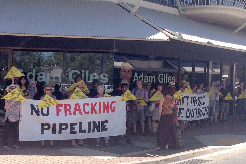 No Fracking Pipeline