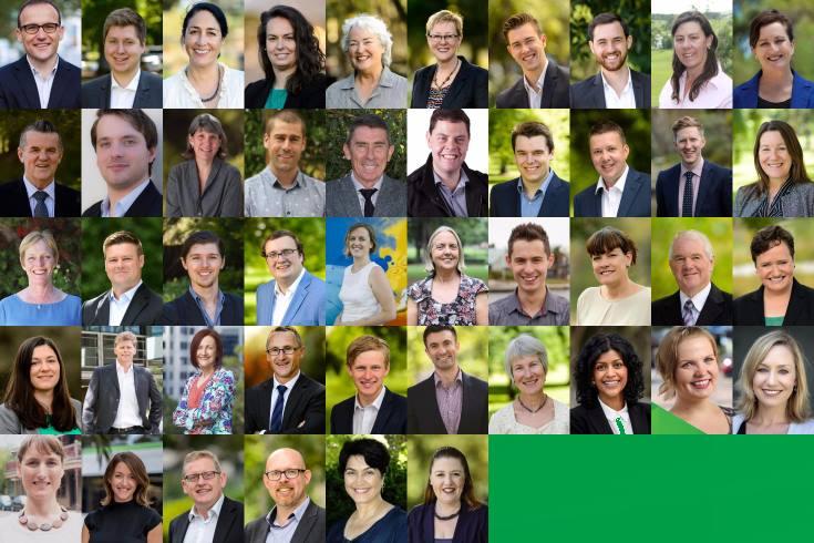 The Greens in Australia..?!?