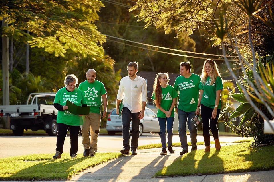Greens Volunteers