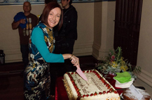 Senator Rachel Siewert celebrates 10 years in the Senate