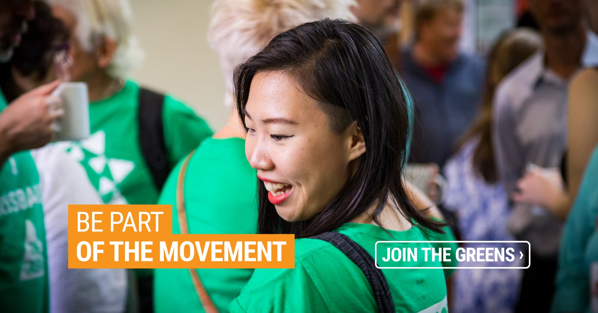 Be part of the movement - Join the Qld Greens